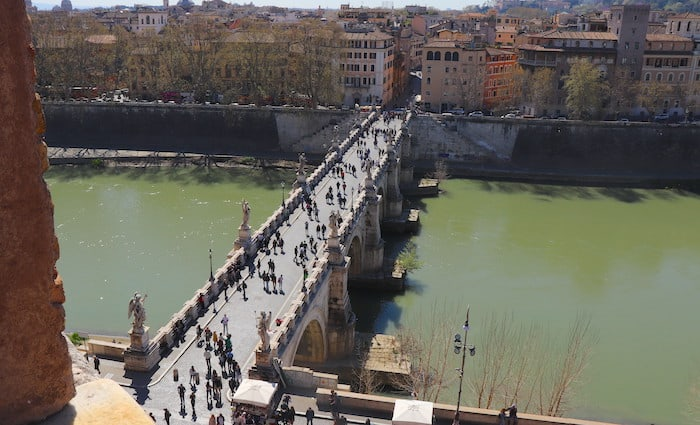 Ponte Sant'Angelo Things to see near Vatican