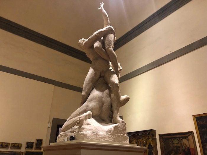Rape of Sabines Accademia
