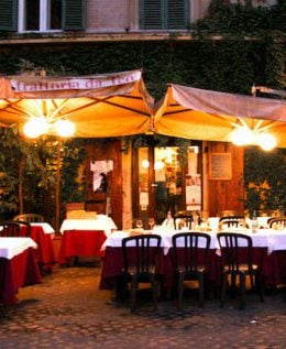 Restaurants near the Colosseum