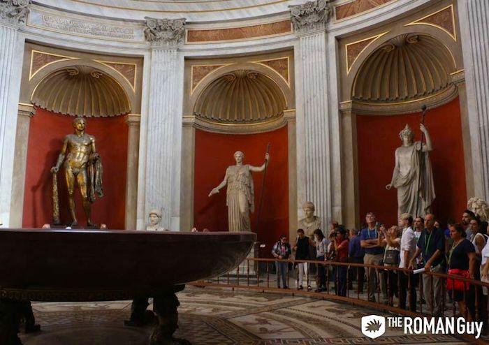 Round Room Pio Clementino