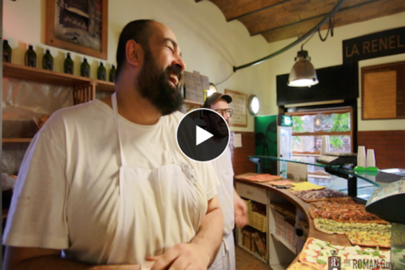 how to order pizza in rome