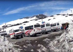 Visit Mount Etna - Off-Road Jeeps