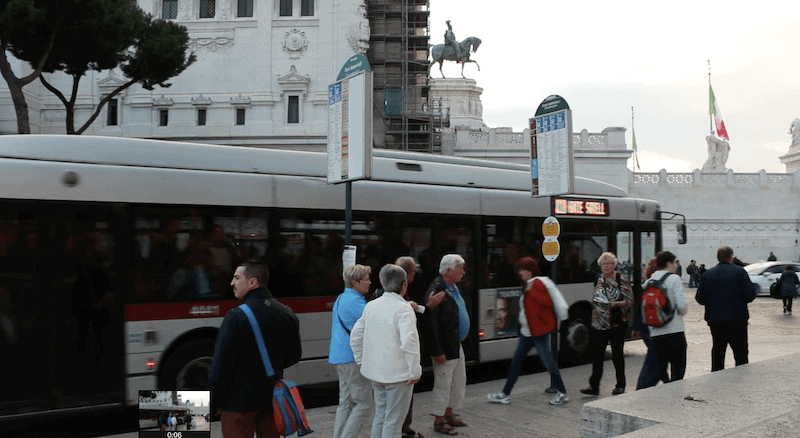 Rome to Amalfi by Bus