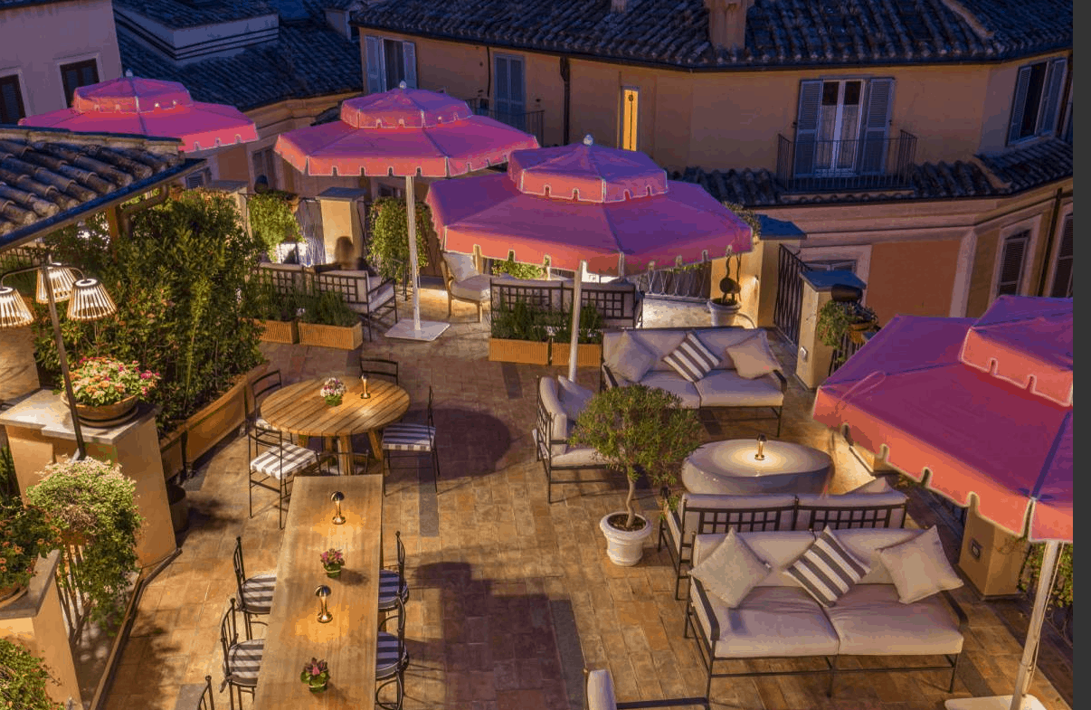 Rome's 5 Best Rooftop Restaurants in 2021