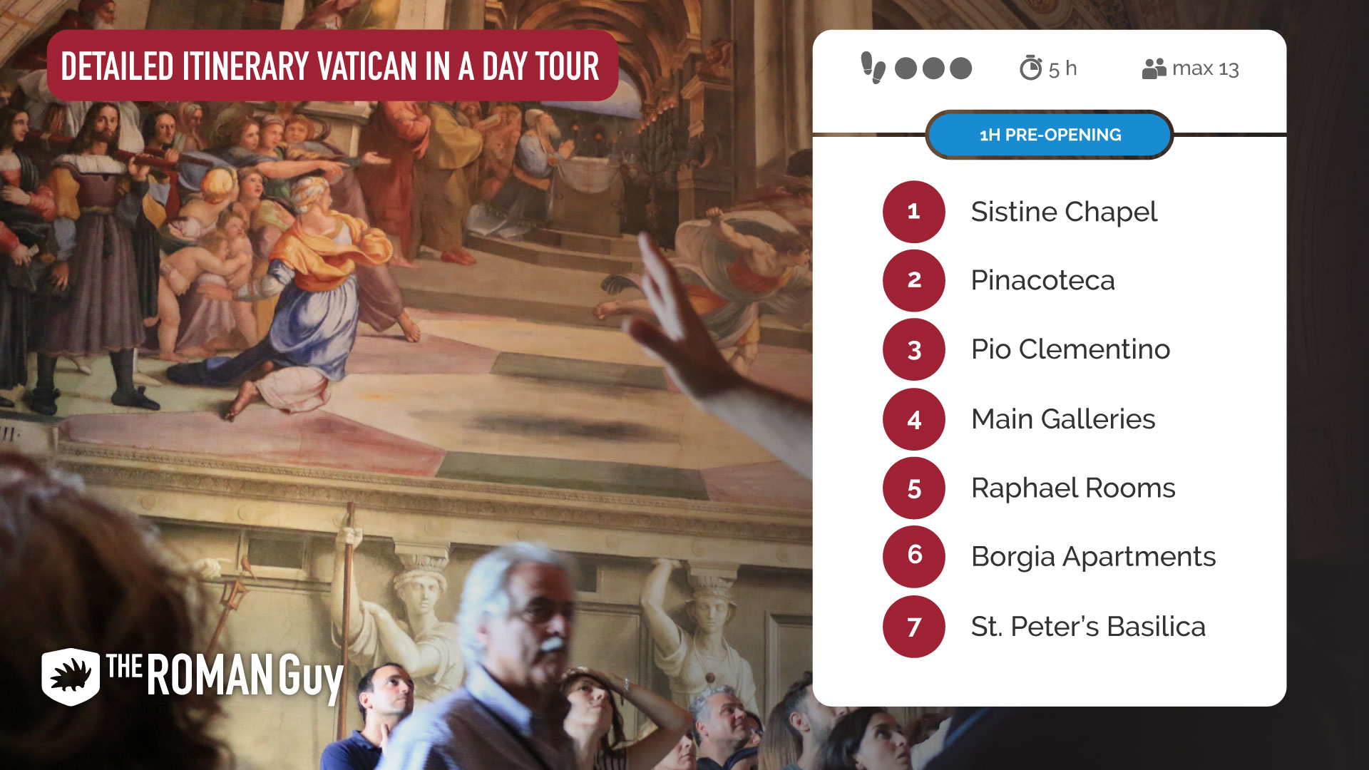 Detailed Vatican Tour