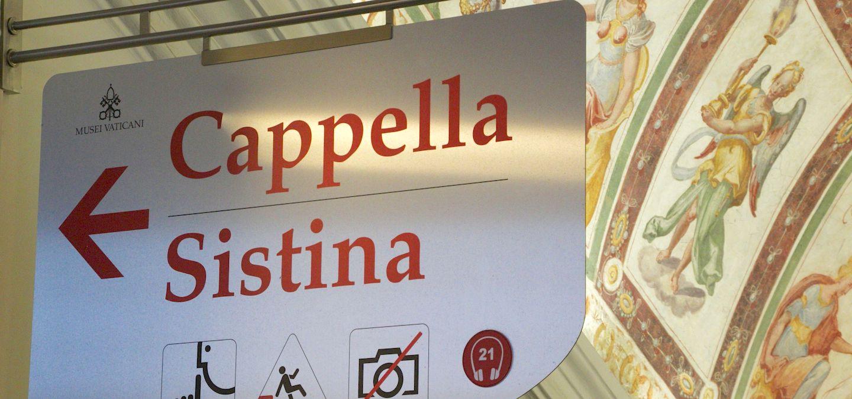 the tour guy sistine chapel