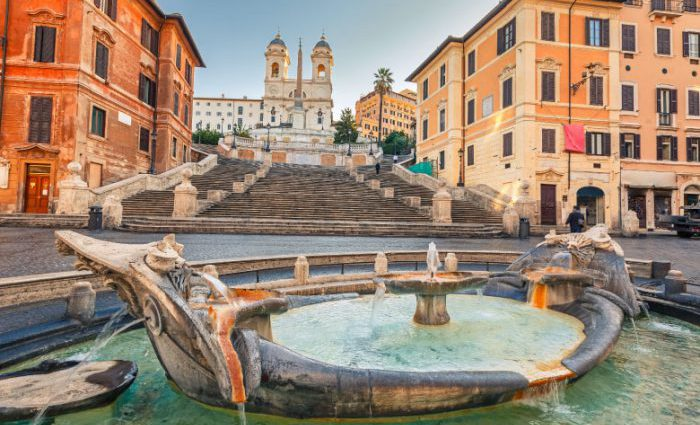 The Spanish Steps Top Rome Attractions 700