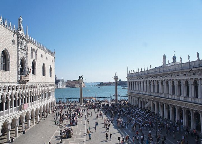 St. Mark's Square Courtyard, Venice, Italy