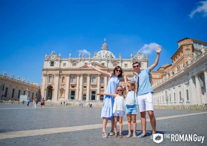 Visiting the Vatican with Kids