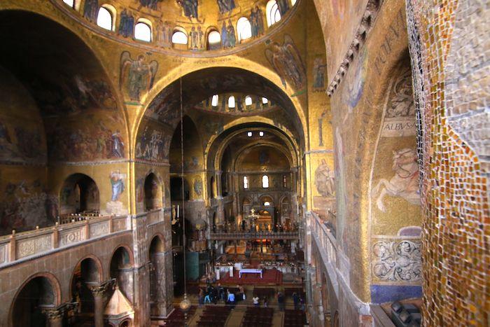 St. Mark's Basilica Interior