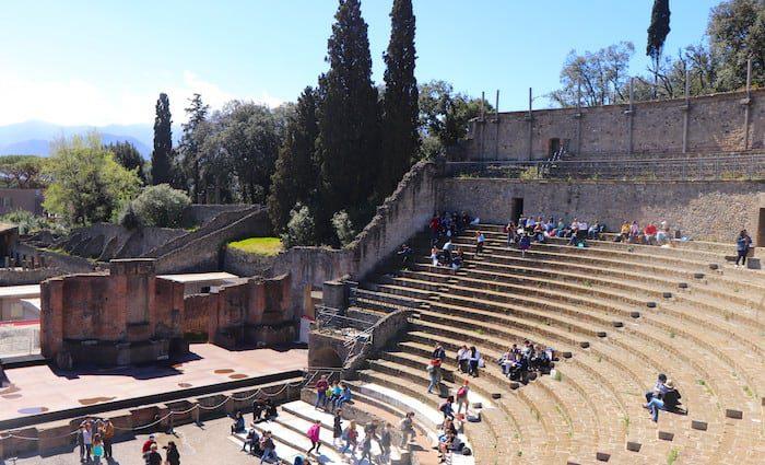 the roman guy pompeii