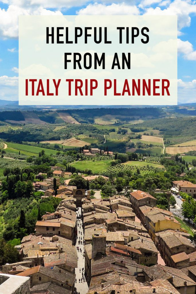 Tips from and Italy trip planner