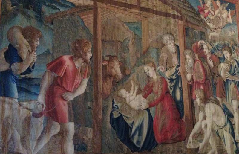 Vatican Gallery of Tapestries Biblical Stories