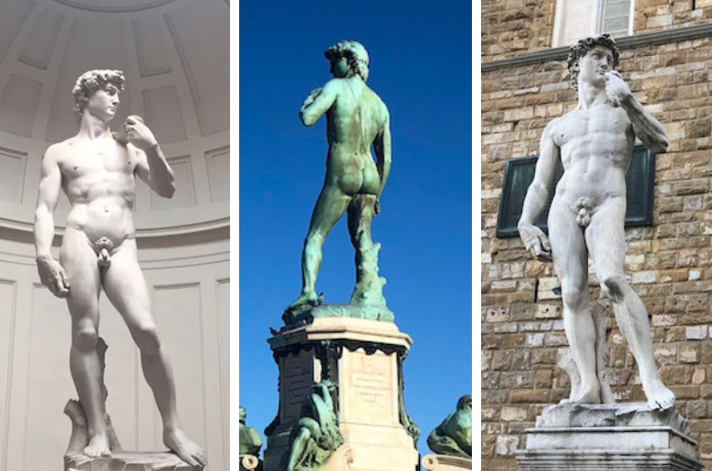 Where is the Statue of David?