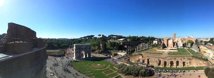 Colosseum Belvedere Views
