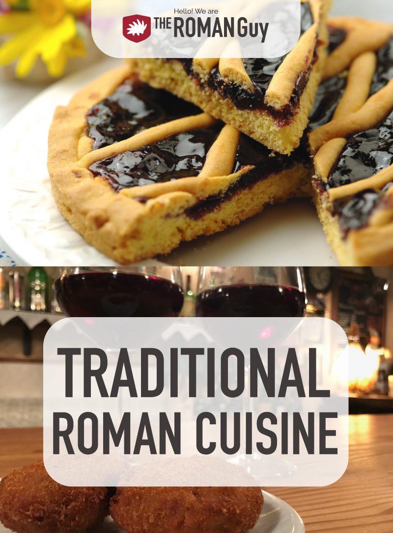 Traditional Roman Cuisine Pinterest