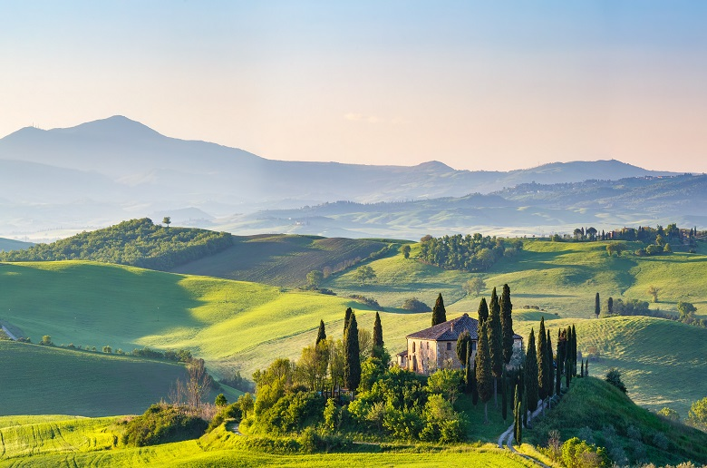 Agriturismo in Italy's Tuscan Countryside