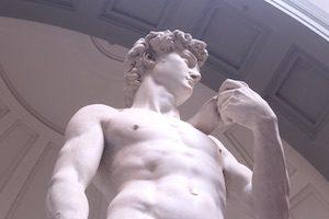 Michelangelos David angle 1