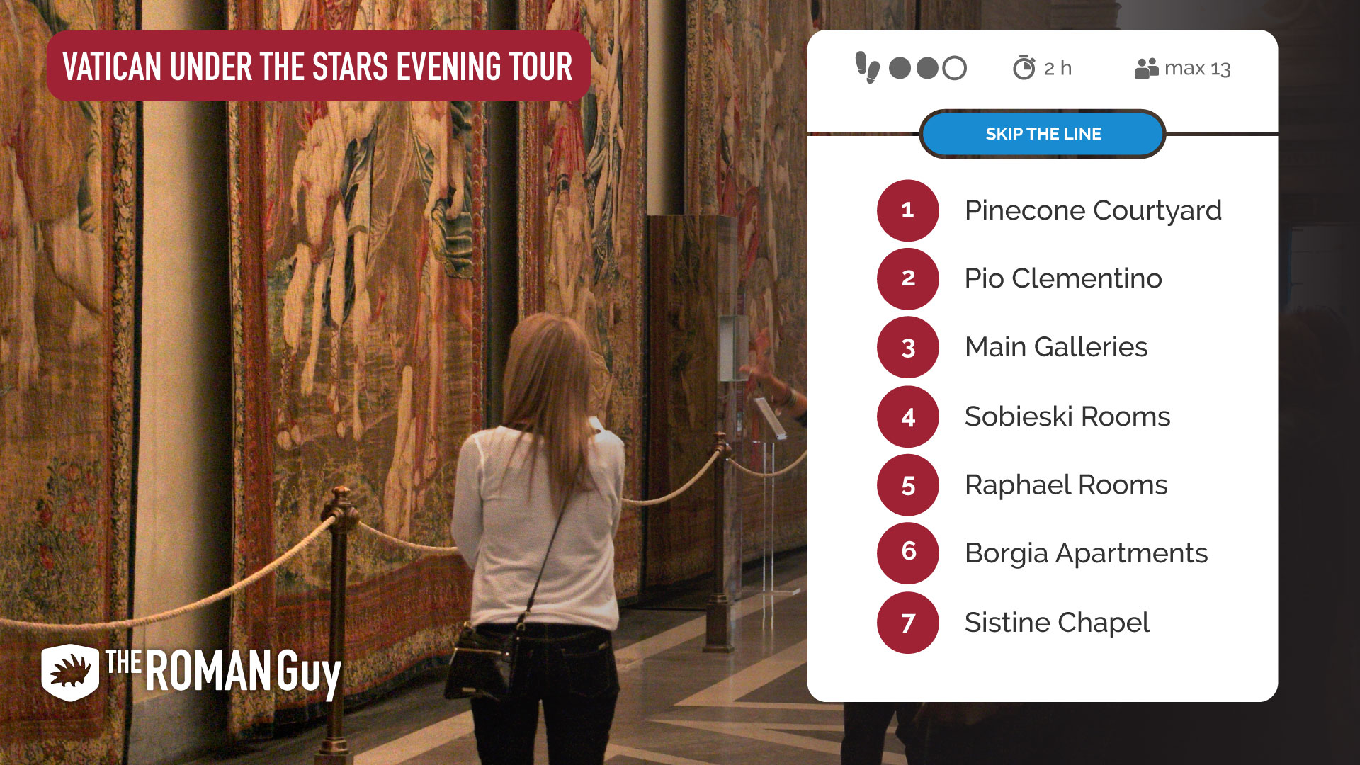 Vatican Under the Stars Tour