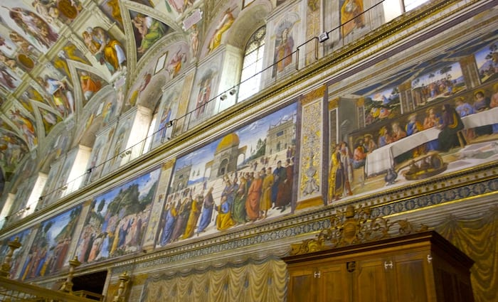 Life of Jesus in the Sistine Chapel one of the top thins to see