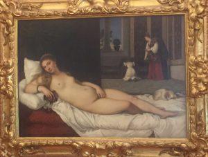 Uffizi Gallery in Florence - Venus of Urbino