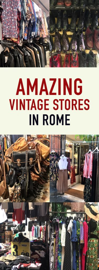 vintage stores in rome pin
