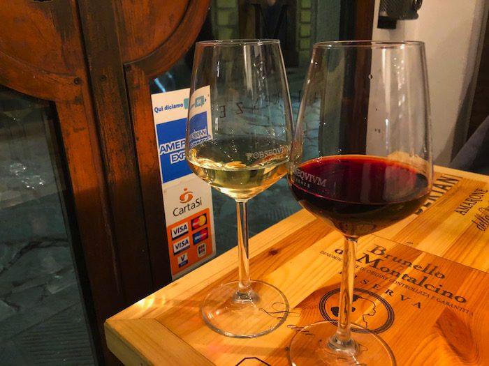 Wine Glasses Florence