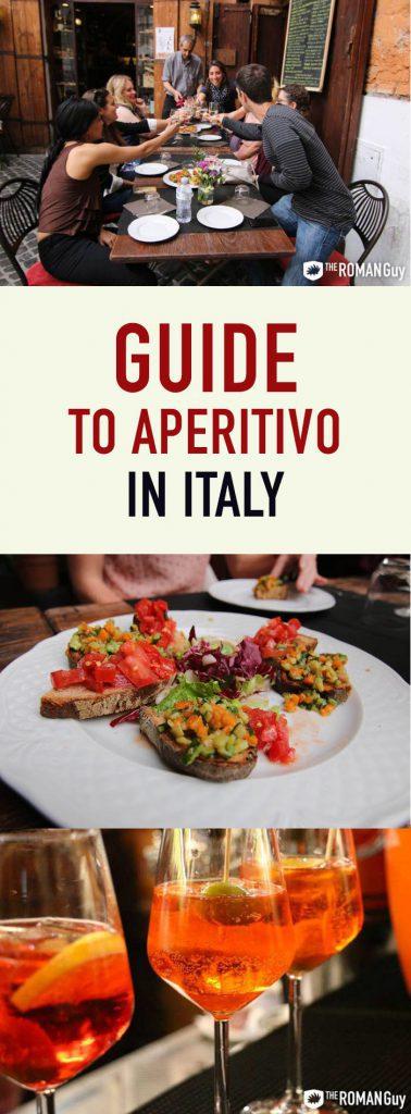 Aperitivo in Italy Pinterest