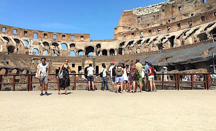 the roman guy arena floor