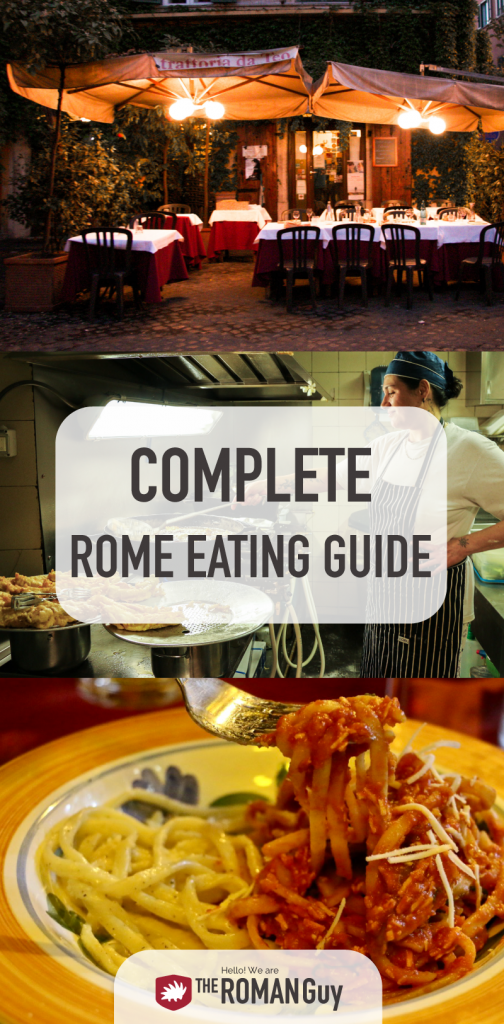 UPDATED & BEST Rome eating guide & Rome food tours | The Roman Guy Italy Tours
