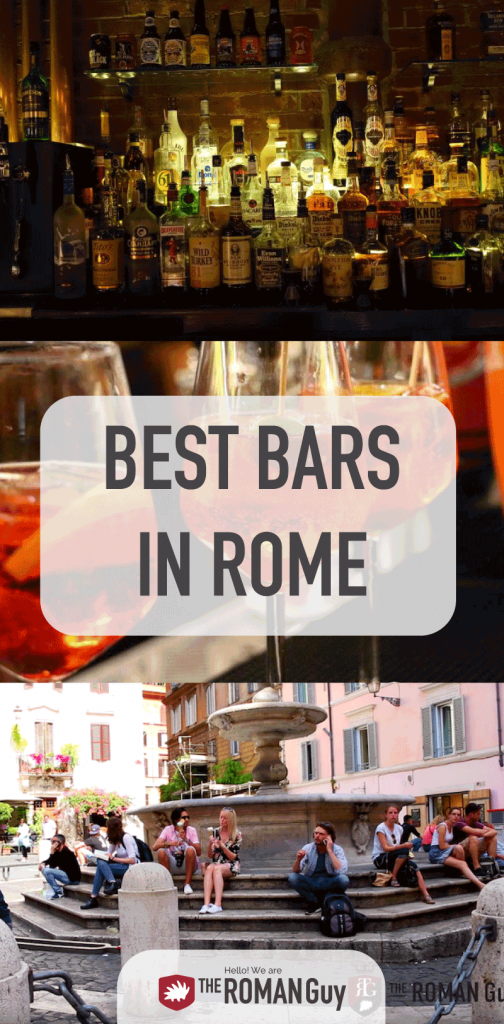 Discover the BEST bars in Rome with recommendations from local experts AND sorted by neighborhood! The Roman Guy Italy Tours