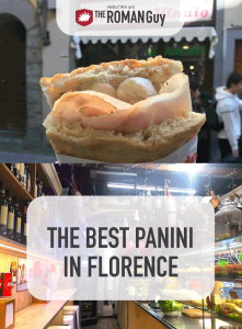 Florence is not only famous for it monuments and masterpieces, but also delicious panini made with fresh meat cuts, vegetables and fragrant bread! Have a read to find out where to get the best panini in Florence! The Roman Guy Italy Tours