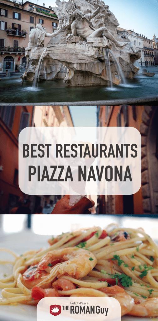Best Restaurants Piazza Navona Rome