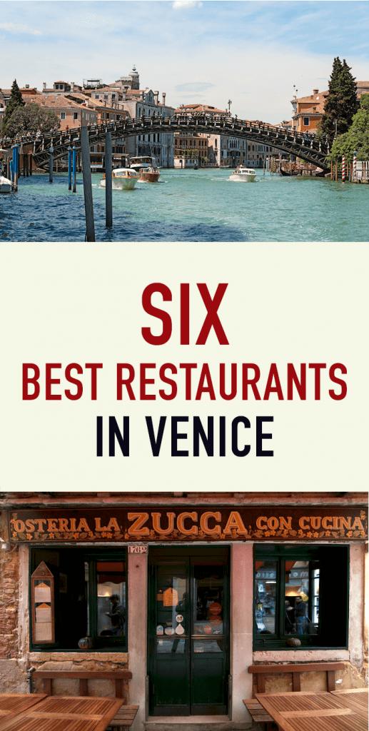 6 best restaurants in Venice pinterest