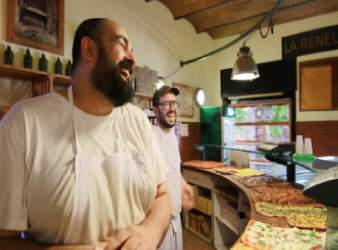 best Rome food tour Italian tours Trastevere locals