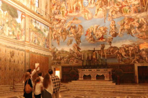 Sistine Chapel in the Vatican Museums
