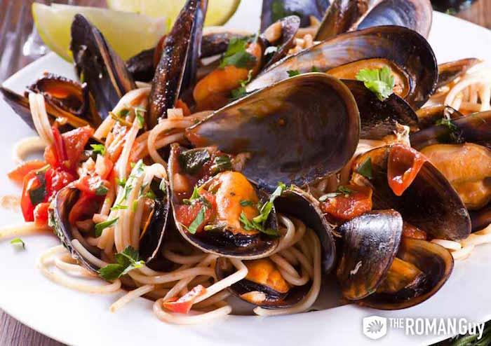 Seafood Capri
