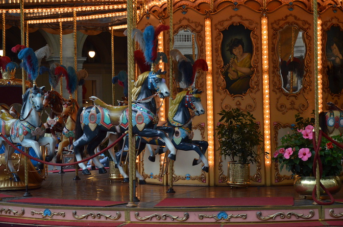 Carousel in Florence , Italy