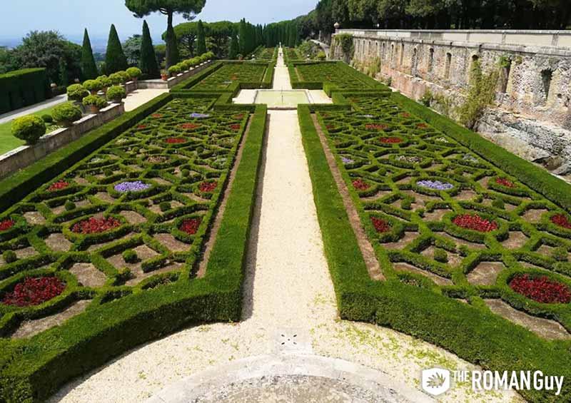 Barberini Gardens in Castel Gandolfo
