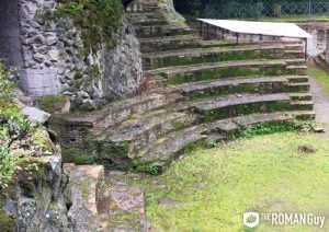 Ancient Amphitheater in the Barberini Gardens