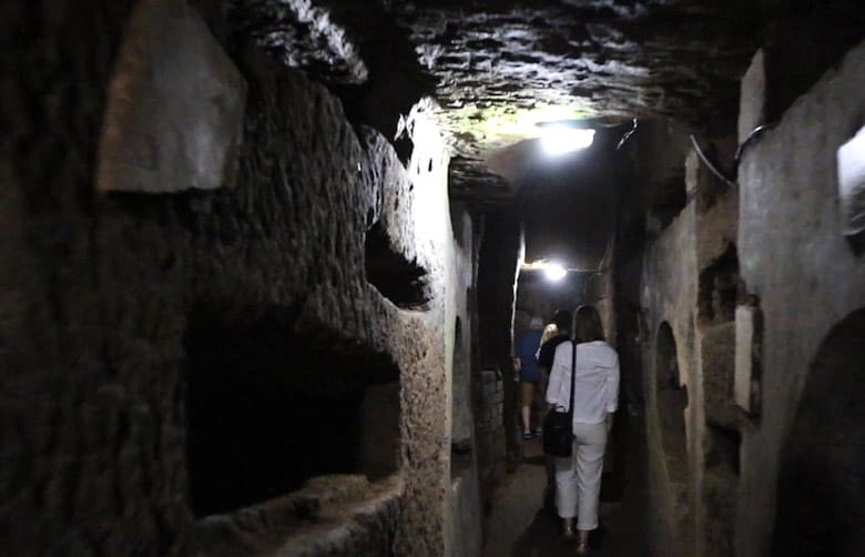 How to See the Rome Catacombs at Night