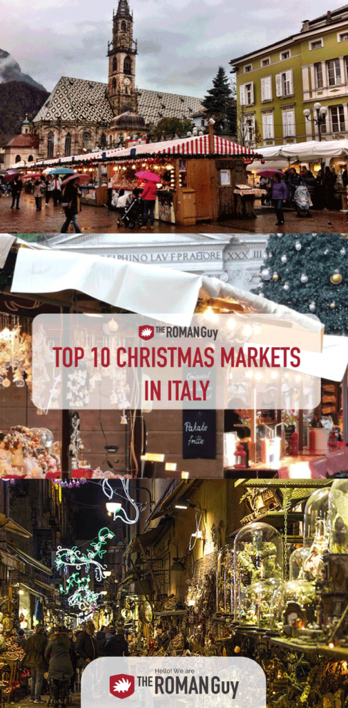 Discover the absolute BEST Christmas Markets in Italy and make the most out of your Italy holiday! The Roman Guy Italy Tours