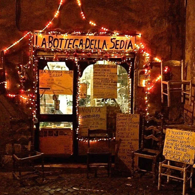 christmas shop rome
