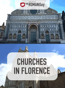 Journey with us through some of the most spectacular churches in Florence and see what they have in store. | The Roman Guy Italy Tours