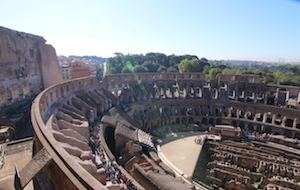 colosseum top level
