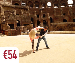 colosseum tour rome arena floor gladiator fight