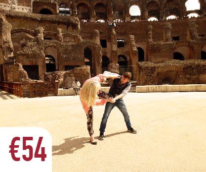 colosseum tour rome arena floor gladiator fight