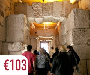 colosseum underground tour roman history ancient passages best of the Rome tours
