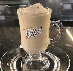 crema di caffe Italian coffee drinks