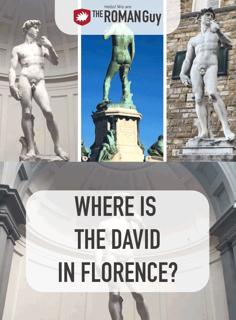 Where is the David in Florence? Read this article before your Italy trip and plan the perfect Florence itinerary with all the best highlights, including Michelangelo's masterpiece! The Roman Guy Italy Tours